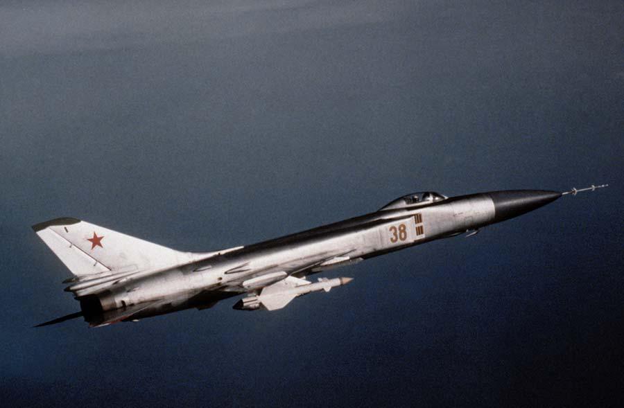 Su-15 - taki samolot zestrzelił KAL 007